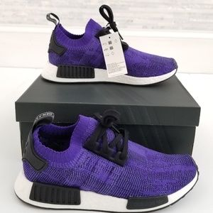 New ADIDAS NMD_R1 PK Energy Ink Sneakers